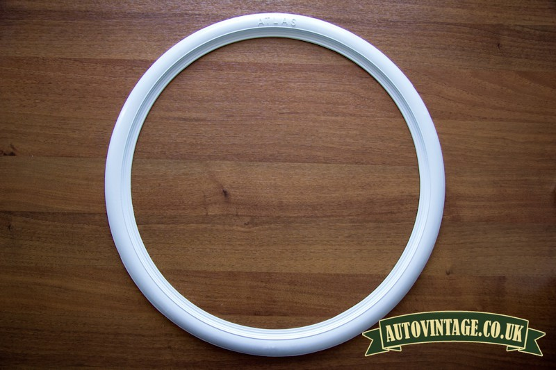 Whitewall motorcycle tyre trims